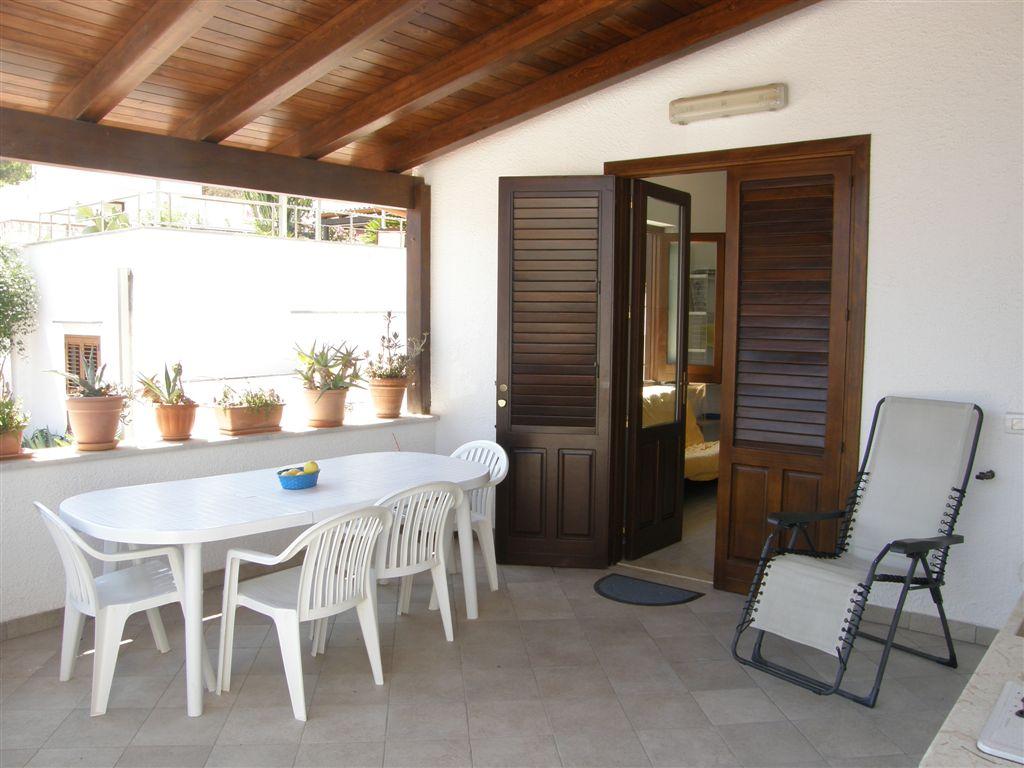 veranda attrezzata